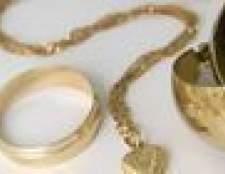 Qual é a melhor maneira de vender jóias de ouro?